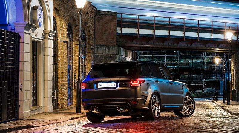 Range Rover Sport 400 LE A Kahn Design: RRS s větší porcí luxusu: - fotka 5