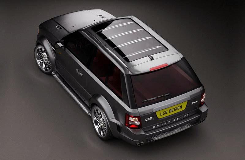 LSE Design Range Rover Sport Coupe: Jeden pár dveří stačí: - fotka 6
