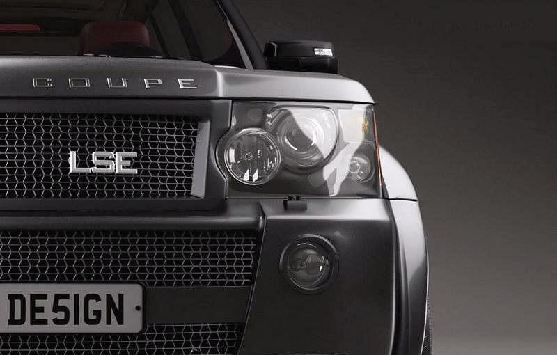 LSE Design Range Rover Sport Coupe: Jeden pár dveří stačí: - fotka 10