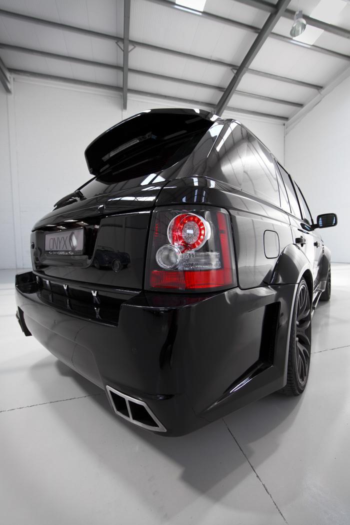 Onyx Concept uvádí modernizované pakety pro Range Rover: - fotka 9