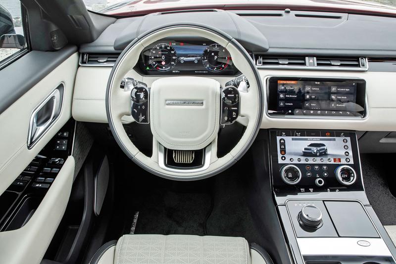 Fungují vysouvací kliky v Range Roveru Velar, i když auto obalí vrstva ledu?: - fotka 1
