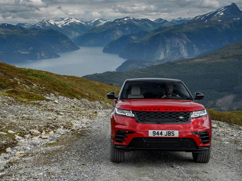 Fungují vysouvací kliky v Range Roveru Velar, i když auto obalí vrstva ledu?: - fotka 19