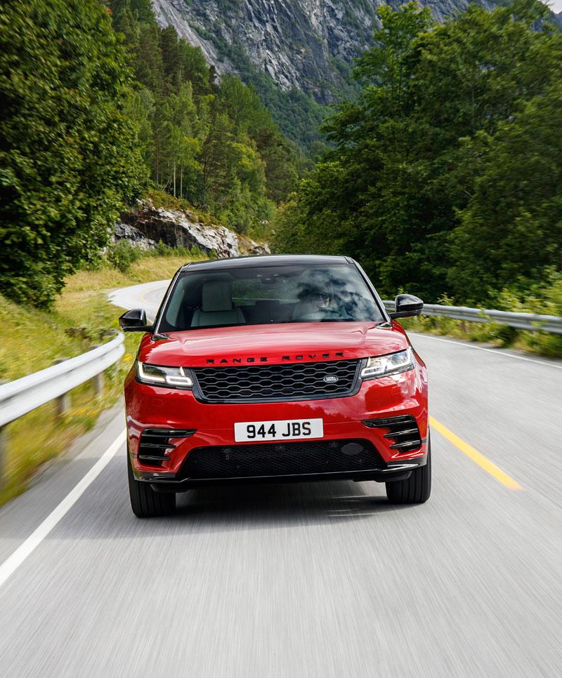 Fungují vysouvací kliky v Range Roveru Velar, i když auto obalí vrstva ledu?: - fotka 22
