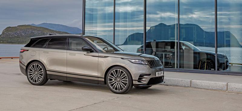 Fungují vysouvací kliky v Range Roveru Velar, i když auto obalí vrstva ledu?: - fotka 34