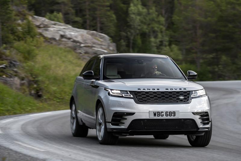 Fungují vysouvací kliky v Range Roveru Velar, i když auto obalí vrstva ledu?: - fotka 35