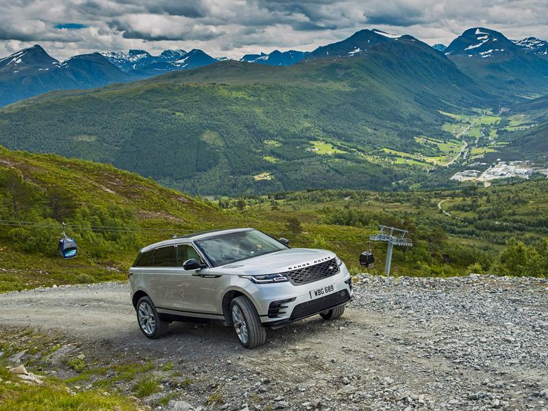 Fungují vysouvací kliky v Range Roveru Velar, i když auto obalí vrstva ledu?: - fotka 40