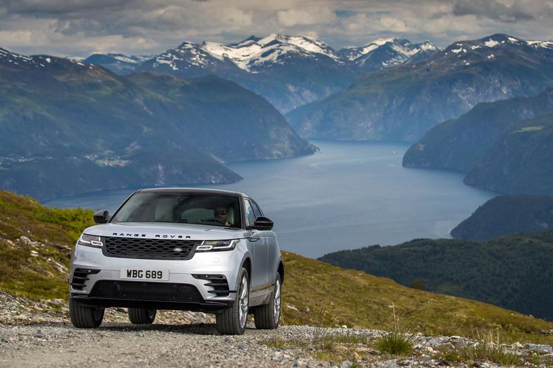 Fungují vysouvací kliky v Range Roveru Velar, i když auto obalí vrstva ledu?: - fotka 42