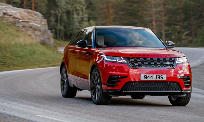 Fungují vysouvací kliky v Range Roveru Velar, i když auto obalí vrstva ledu?: - fotka 45