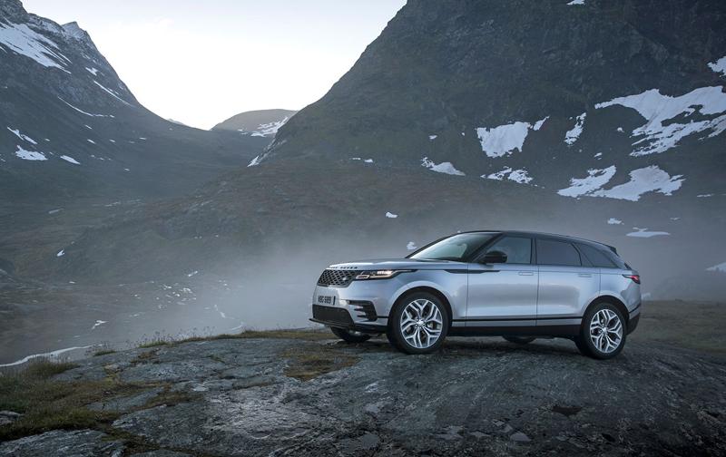 Fungují vysouvací kliky v Range Roveru Velar, i když auto obalí vrstva ledu?: - fotka 49