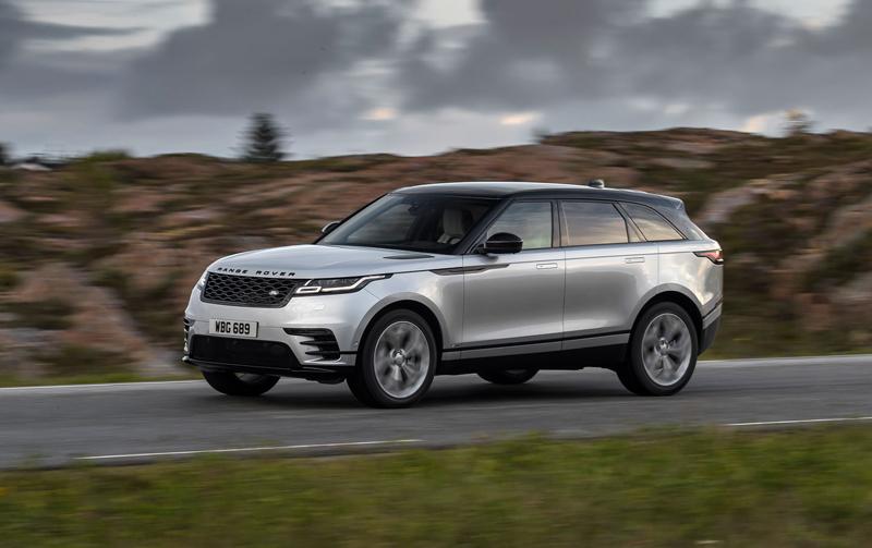 Fungují vysouvací kliky v Range Roveru Velar, i když auto obalí vrstva ledu?: - fotka 51