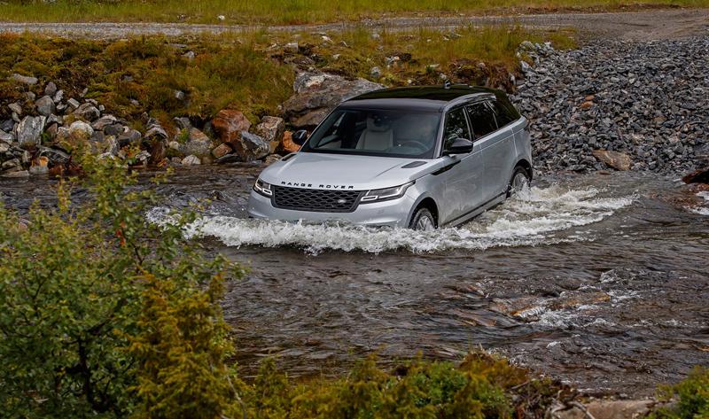 Fungují vysouvací kliky v Range Roveru Velar, i když auto obalí vrstva ledu?: - fotka 55