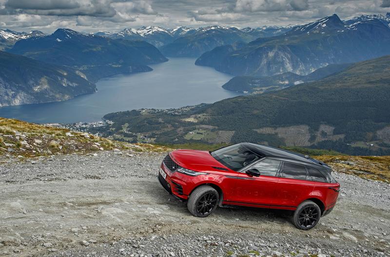 Fungují vysouvací kliky v Range Roveru Velar, i když auto obalí vrstva ledu?: - fotka 56