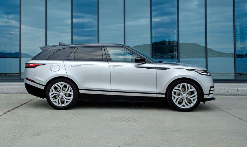 Fungují vysouvací kliky v Range Roveru Velar, i když auto obalí vrstva ledu?: - fotka 62