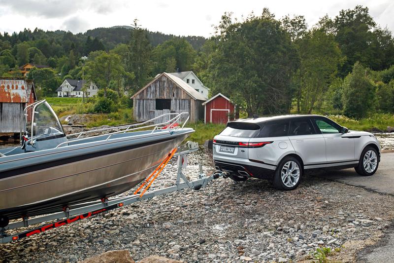 Fungují vysouvací kliky v Range Roveru Velar, i když auto obalí vrstva ledu?: - fotka 68