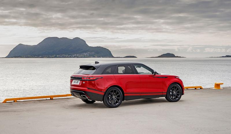 Fungují vysouvací kliky v Range Roveru Velar, i když auto obalí vrstva ledu?: - fotka 70