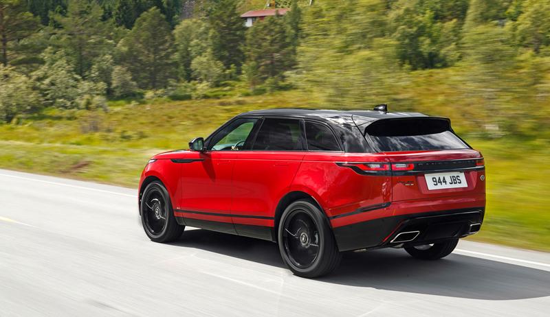 Fungují vysouvací kliky v Range Roveru Velar, i když auto obalí vrstva ledu?: - fotka 71
