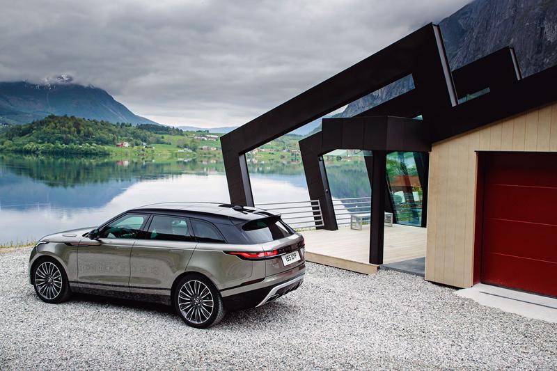 Fungují vysouvací kliky v Range Roveru Velar, i když auto obalí vrstva ledu?: - fotka 72