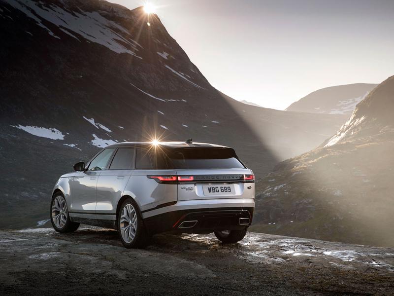 Fungují vysouvací kliky v Range Roveru Velar, i když auto obalí vrstva ledu?: - fotka 78
