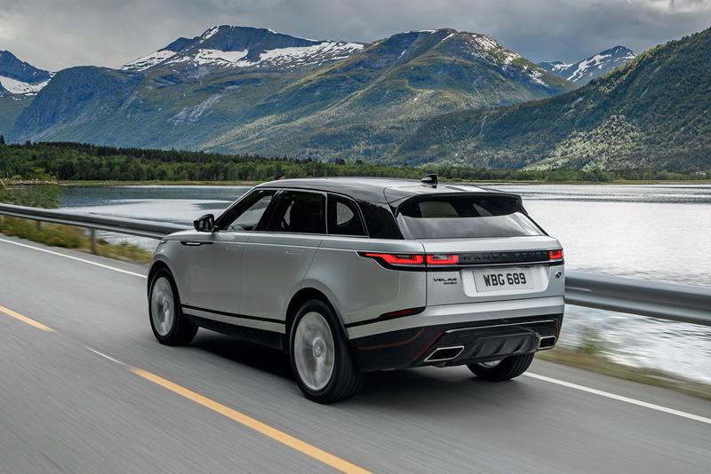 Fungují vysouvací kliky v Range Roveru Velar, i když auto obalí vrstva ledu?: - fotka 81