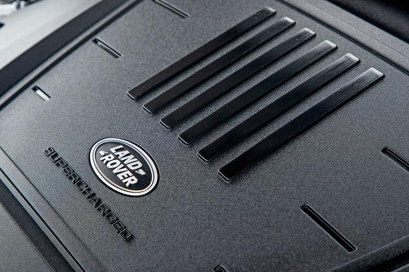 Fungují vysouvací kliky v Range Roveru Velar, i když auto obalí vrstva ledu?: - fotka 93