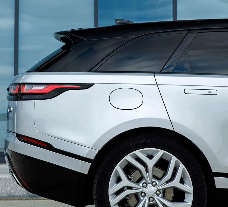 Fungují vysouvací kliky v Range Roveru Velar, i když auto obalí vrstva ledu?: - fotka 113
