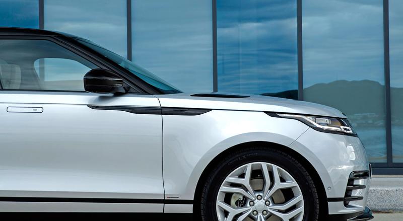 Fungují vysouvací kliky v Range Roveru Velar, i když auto obalí vrstva ledu?: - fotka 117
