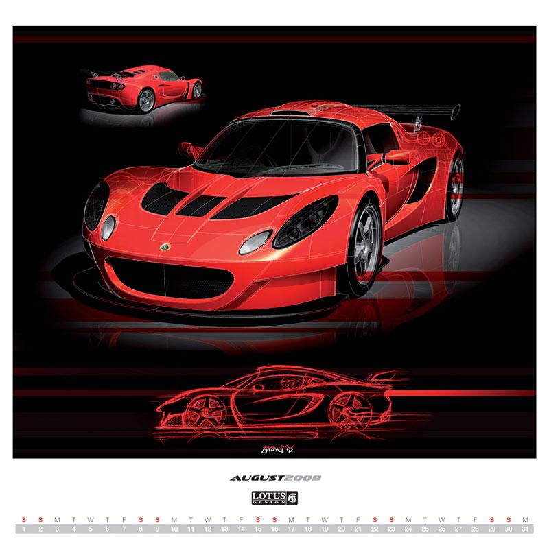 2009 Lotus Design Calendar – objednávejte přes internet: - fotka 1