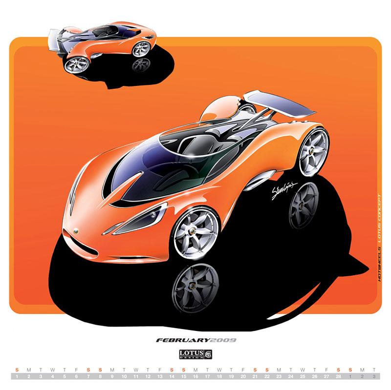 2009 Lotus Design Calendar – objednávejte přes internet: - fotka 3