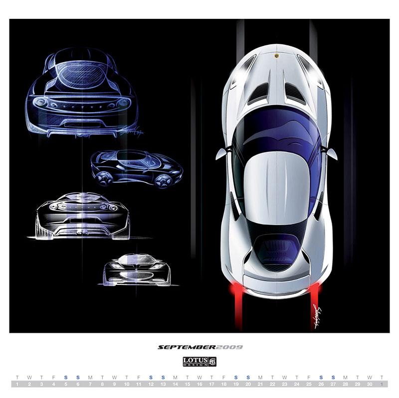 2009 Lotus Design Calendar – objednávejte přes internet: - fotka 4