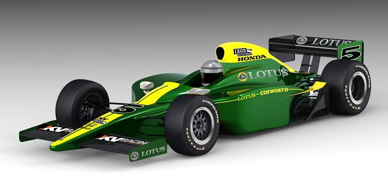 Lotus Cosworth IndyCar: návrat na místo činu: - fotka 1