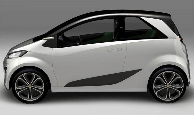Paříž 2010: Lotus City Car Concept - sedm a dost: - fotka 4