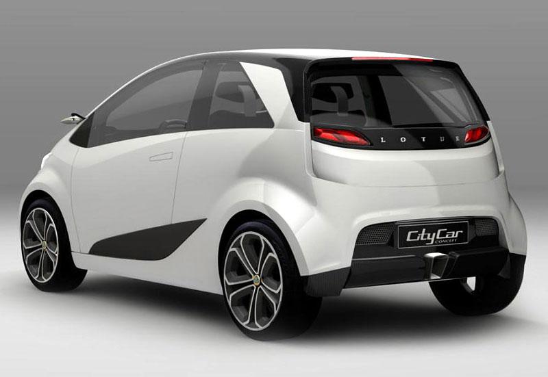 Paříž 2010: Lotus City Car Concept - sedm a dost: - fotka 5