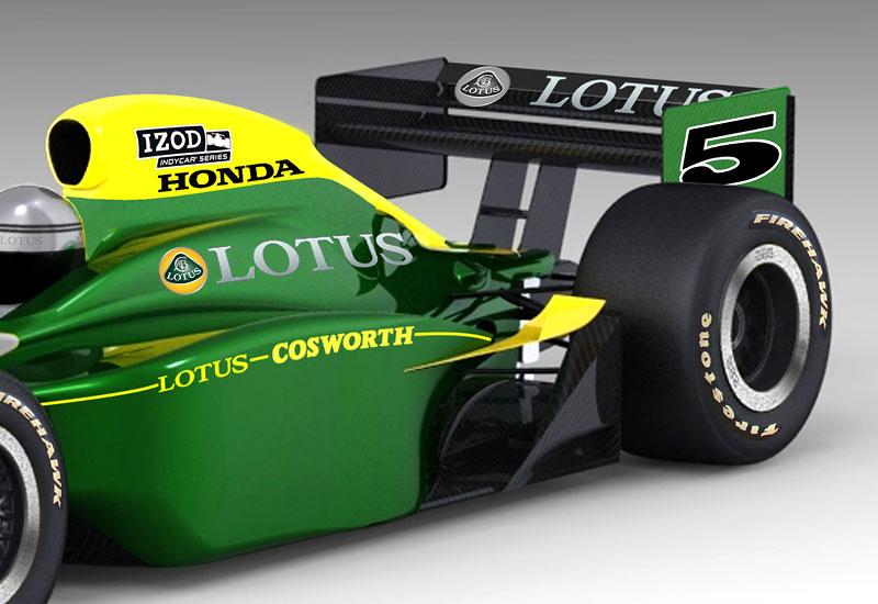 Lotus Cosworth IndyCar: návrat na místo činu: - fotka 5