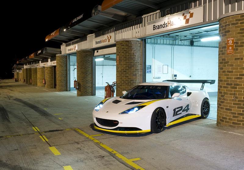 Lotus Evora Type 124: speciál s homologací FIA GT: - fotka 3