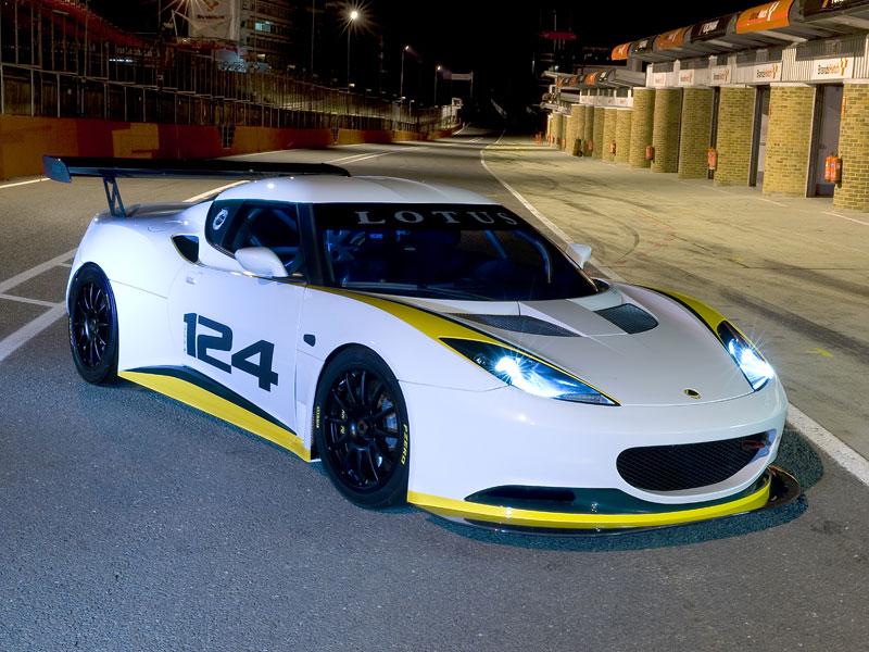 Lotus Evora Type 124: speciál s homologací FIA GT: - fotka 7