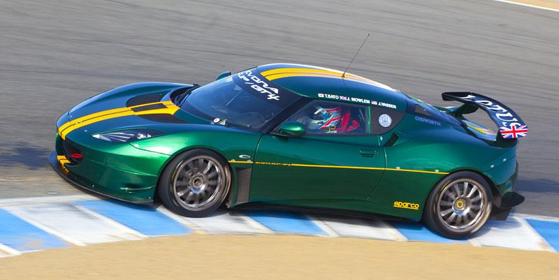 Lotus Evora Cup/GT4: První ostré nasazení na Nürburgringu: - fotka 2
