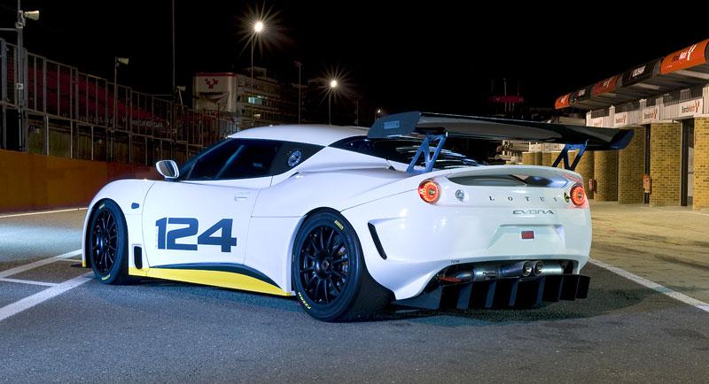 Lotus Evora Type 124: speciál s homologací FIA GT: - fotka 8