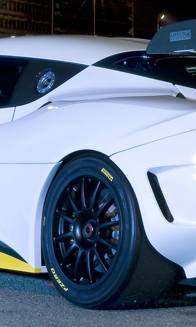 Lotus Evora Type 124: speciál s homologací FIA GT: - fotka 11