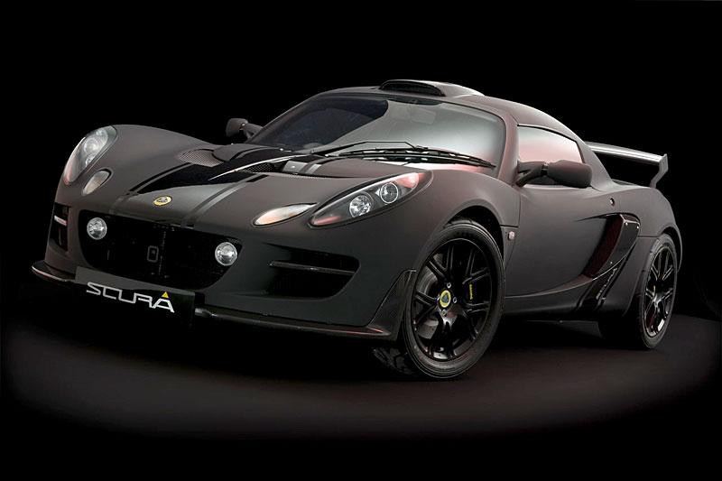 Lotus Exige Scura: černý lak a karbon pro Cup 260: - fotka 8