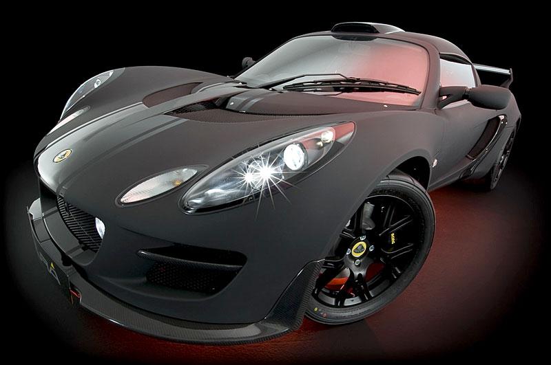 Lotus Exige Scura: černý lak a karbon pro Cup 260: - fotka 9