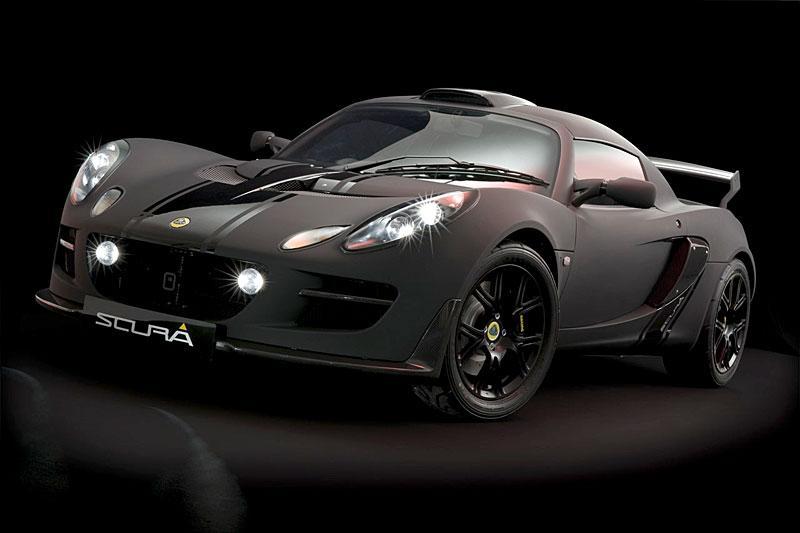 Lotus Exige Scura: černý lak a karbon pro Cup 260: - fotka 10