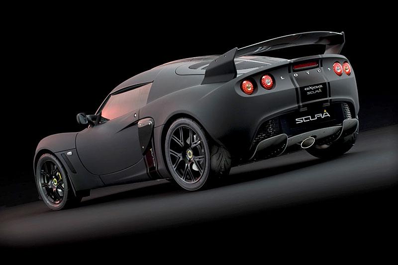 Lotus Exige Scura: černý lak a karbon pro Cup 260: - fotka 13
