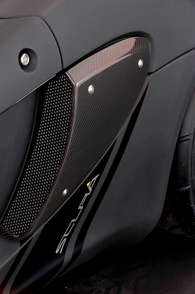 Lotus Exige Scura: černý lak a karbon pro Cup 260: - fotka 17