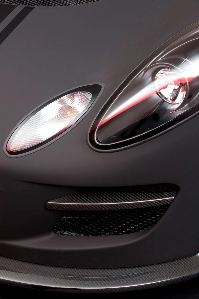 Lotus Exige Scura: černý lak a karbon pro Cup 260: - fotka 18