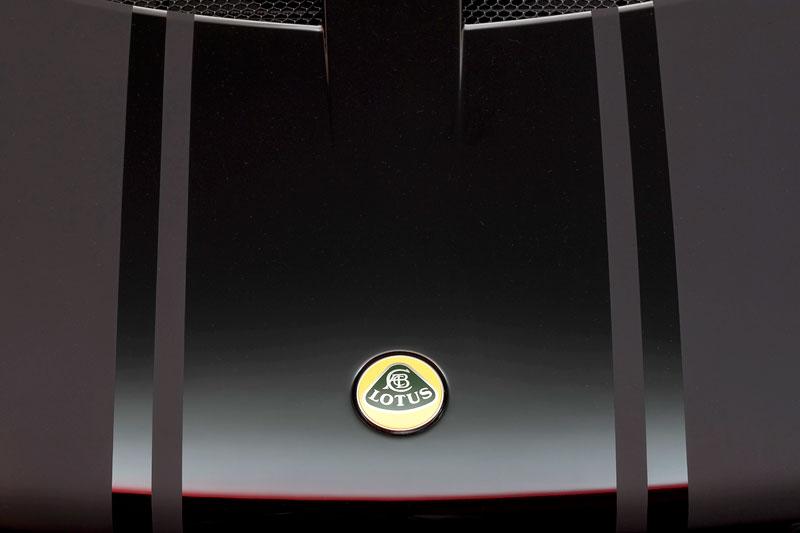 Lotus Exige Scura: černý lak a karbon pro Cup 260: - fotka 20