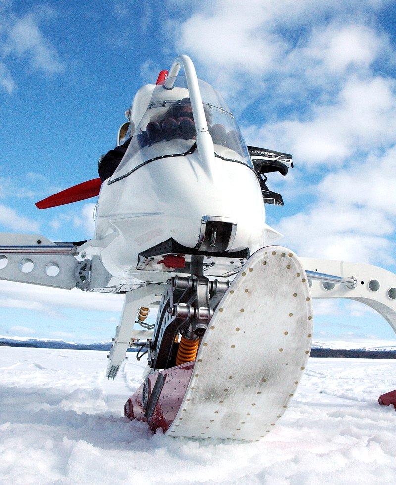 Lotus Concept Ice Vehicle - zimní radovánky: - fotka 1