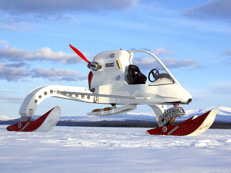 Lotus Concept Ice Vehicle - zimní radovánky: - fotka 3