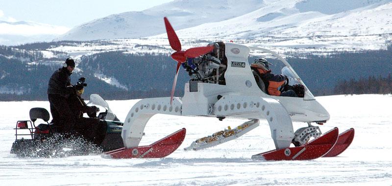 Lotus Concept Ice Vehicle - zimní radovánky: - fotka 4