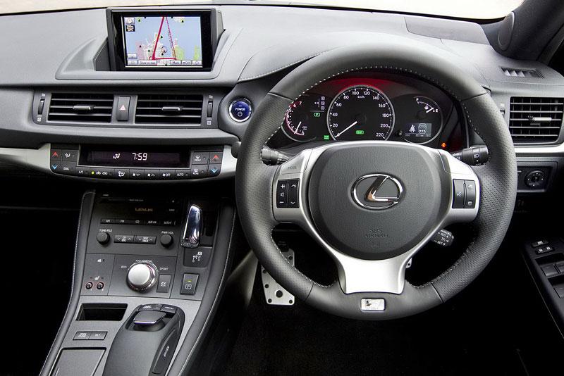 Lexus CT 200h F-Sport: oficiální fotografie: - fotka 2