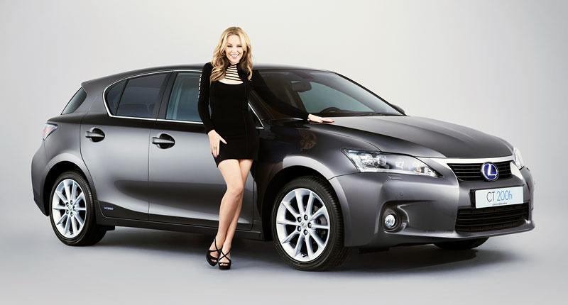 Kylie Minogue kamarádí s Lexusem: - fotka 1